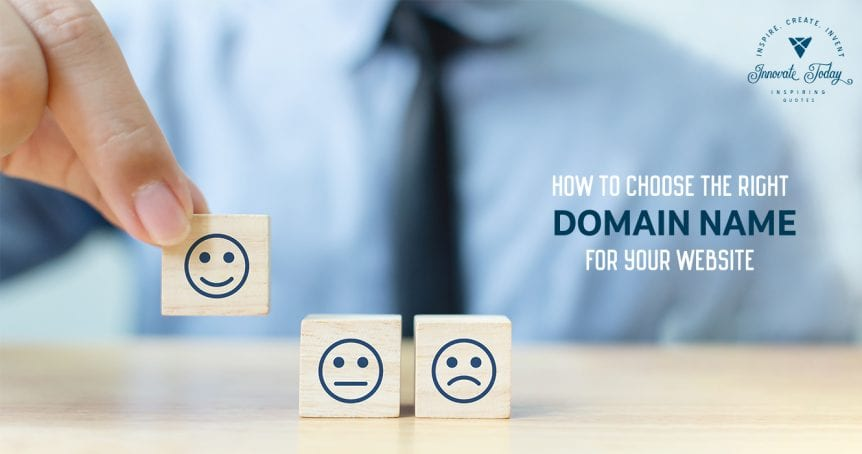 How to choose the Right Domain Name for your Website