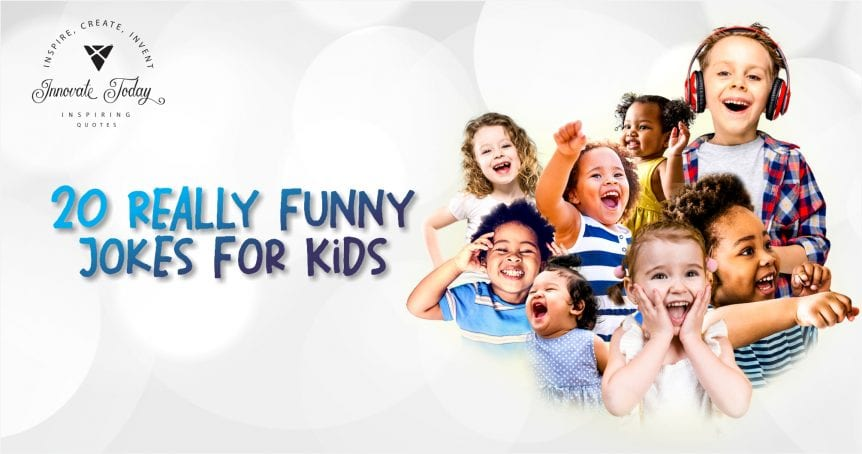 Twenty really funny jokes for kids